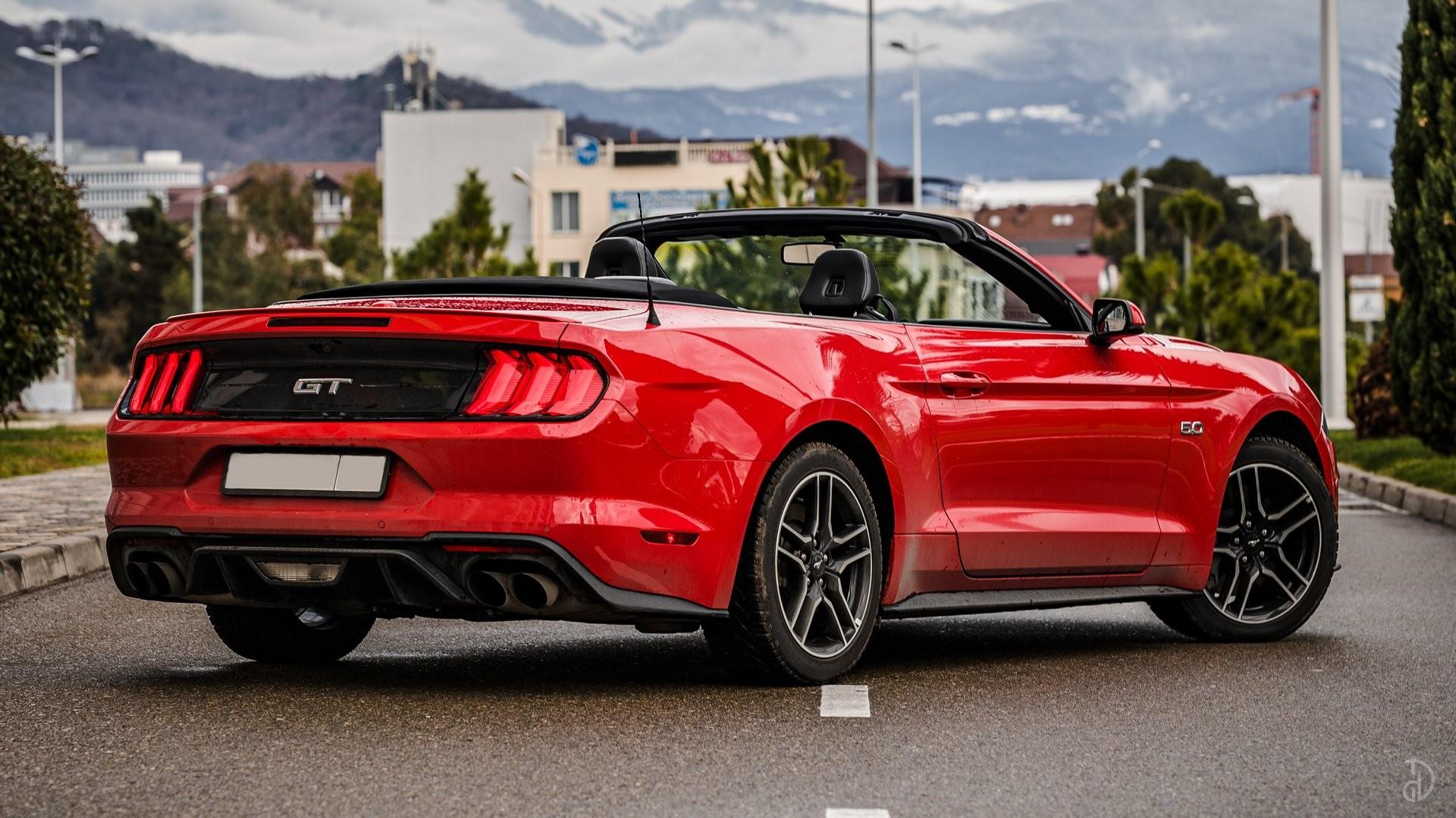 Аренда Ford Mustang GT 5.0 в Сочи. Фото 2