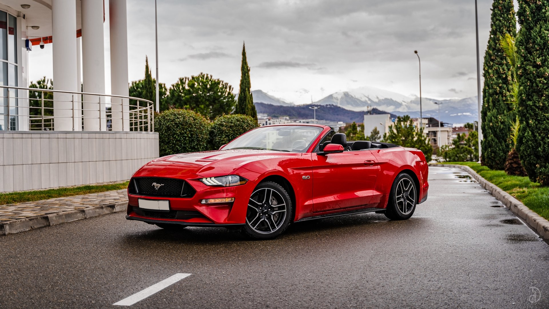 Аренда Ford Mustang GT 5.0 в Сочи. Фото 1