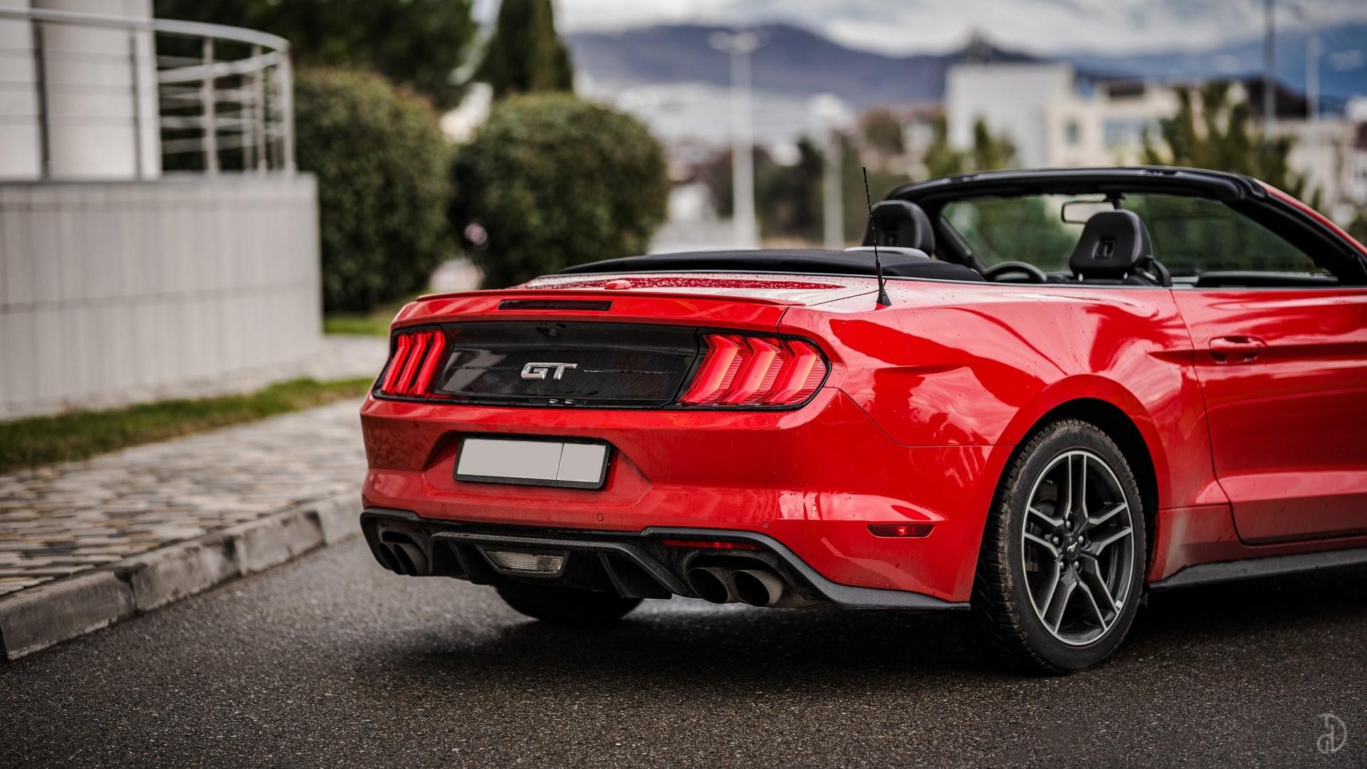 Аренда Ford Mustang GT 5.0 в Сочи. Фото 5
