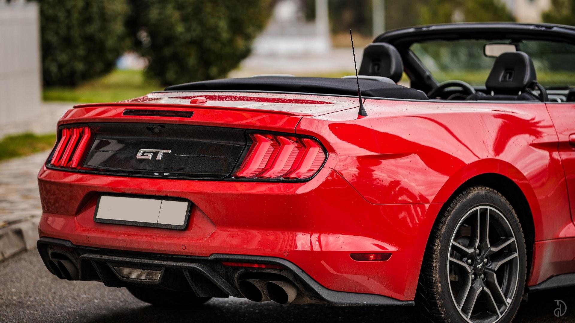 Аренда Ford Mustang GT 5.0 в Сочи. Фото 6