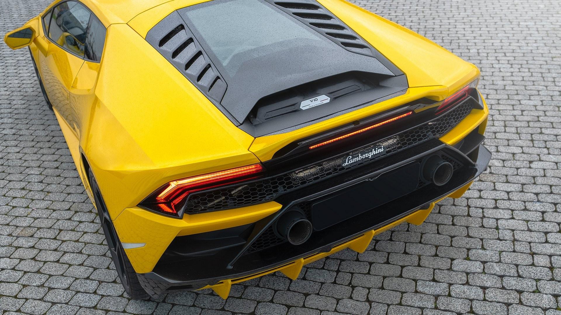 Аренда Lamborghini Huracan Evo в Москве. Фото 6