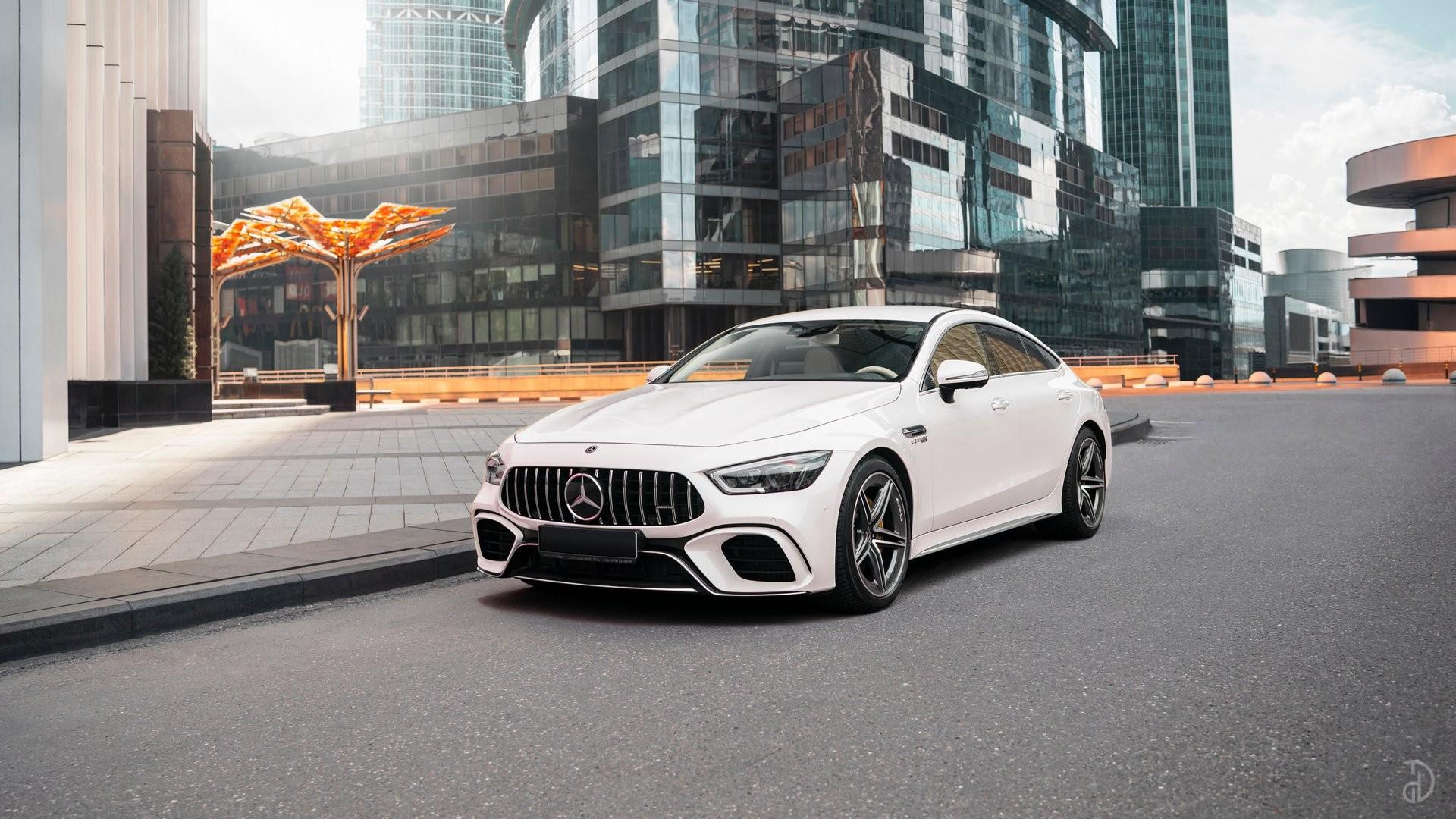 Аренда Mercedes-Benz AMG GT 63s 4 дв. купе. Фото 1