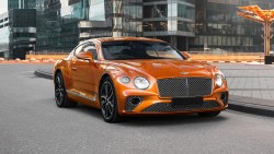Аренда Bentley Continental GT 2020 в Москве