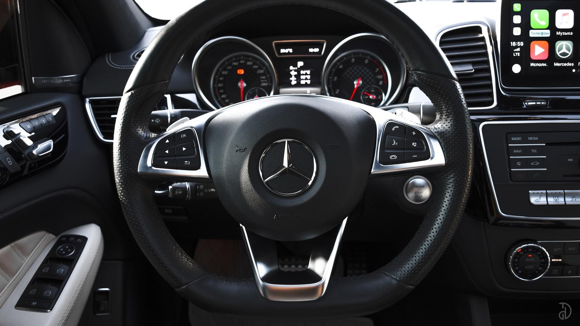 Аренда Mercedes GLE 43 AMG в Сочи. Фото 8