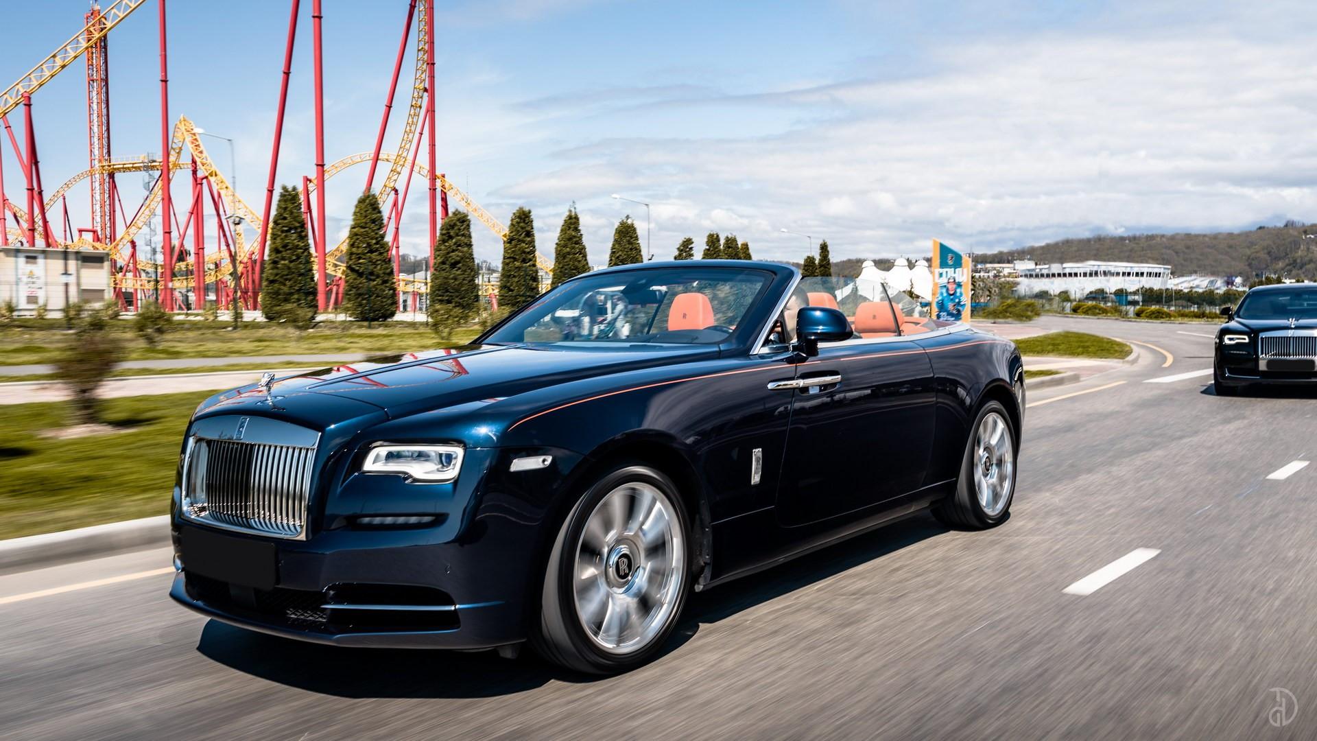 Аренда Rolls-Royce Dawn в Сочи. Фото 3