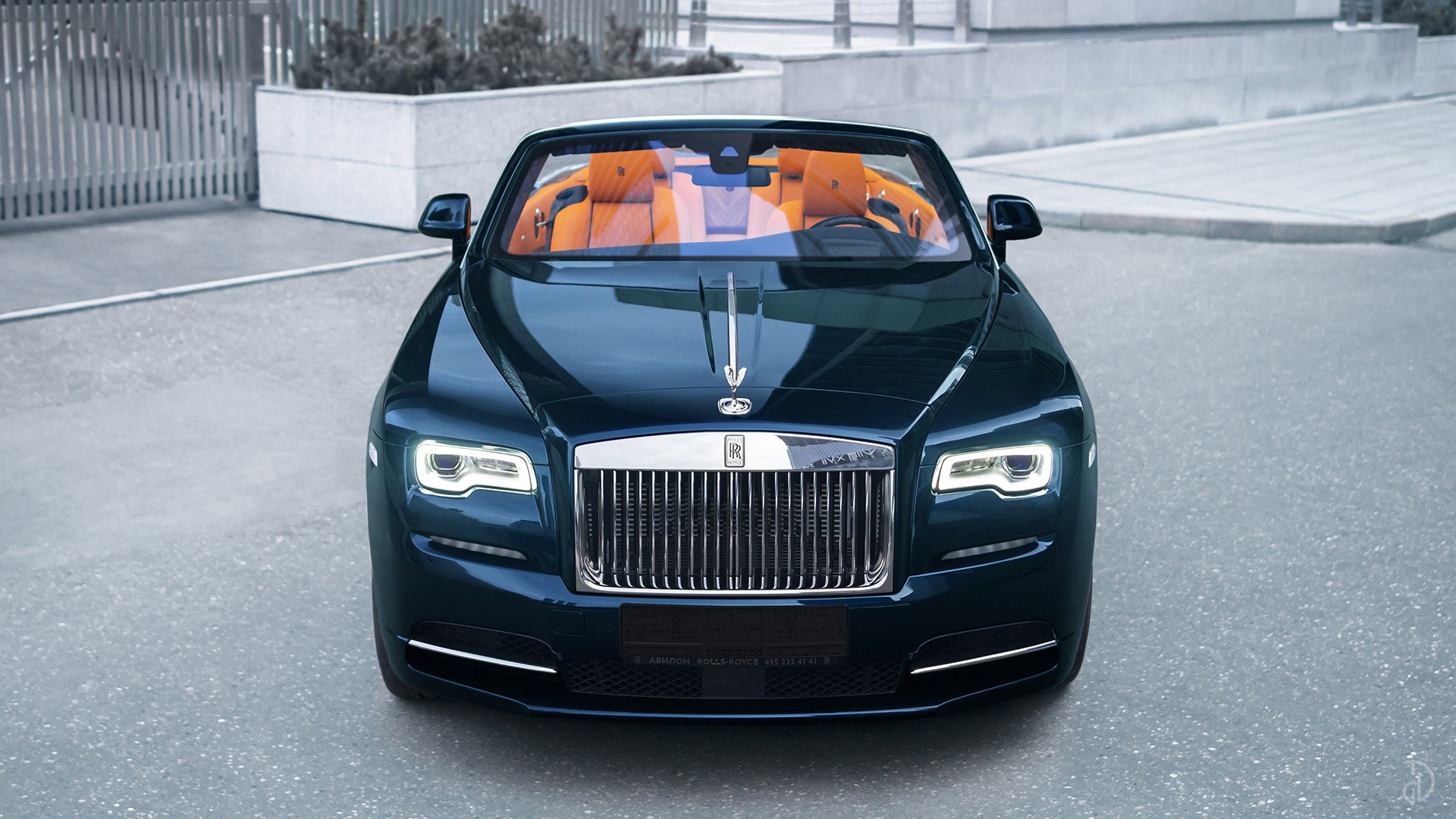 Аренда Rolls-Royce Dawn в Москве. Фото 3