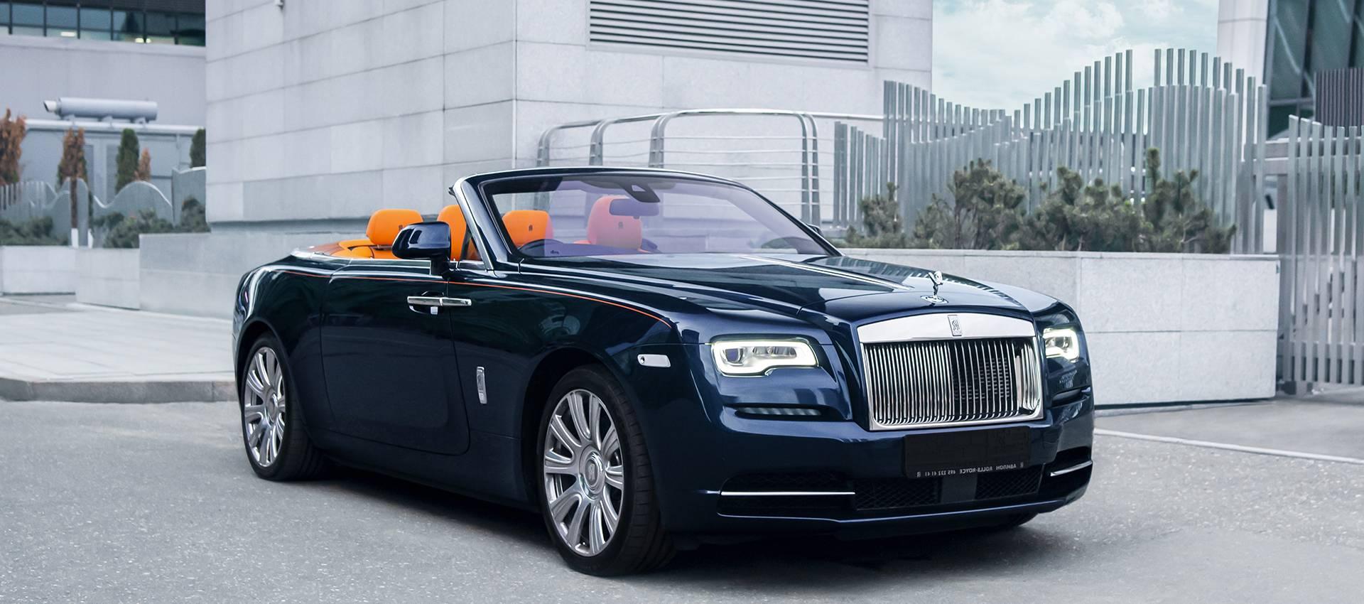 Аренда Rolls-Royce Dawn в Москве