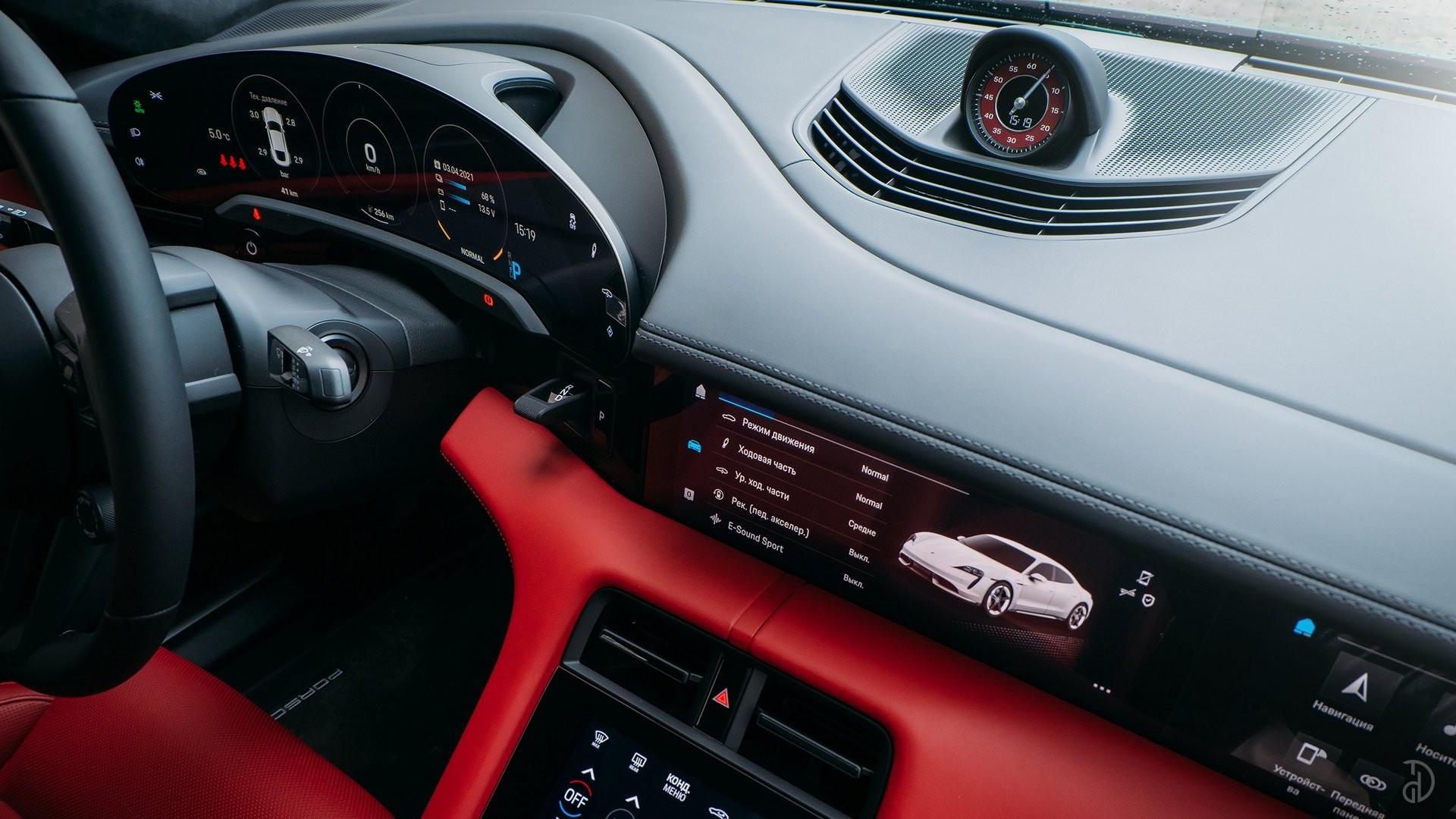 Аренда Porsche Taycan Turbo в Сочи. Фото 16