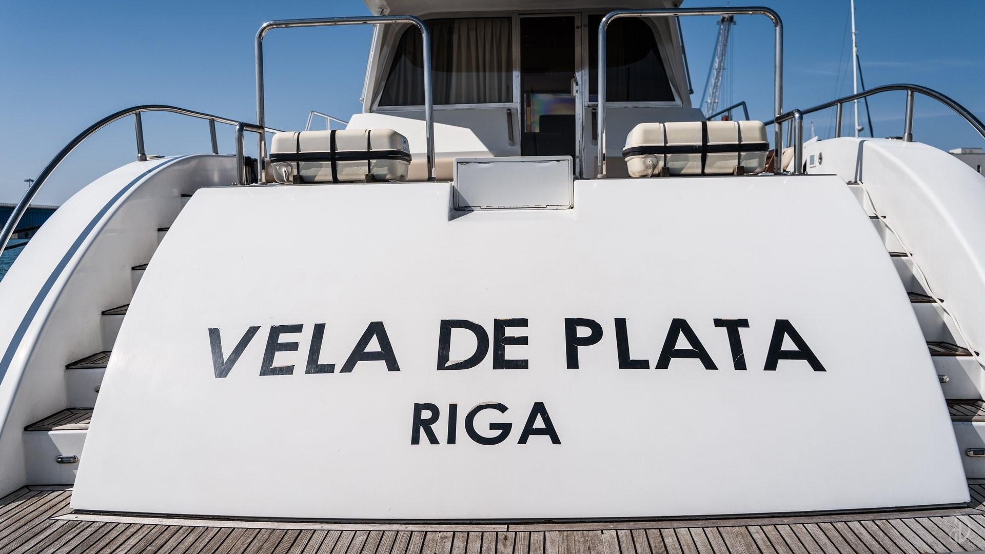 Аренда моторной яхты Vela De Plata. Фото 3