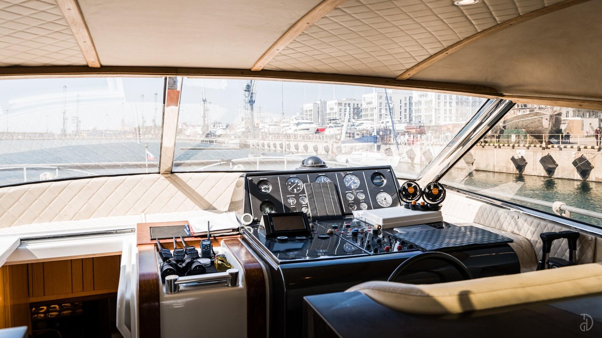Аренда моторной яхты Vela De Plata. Фото 12