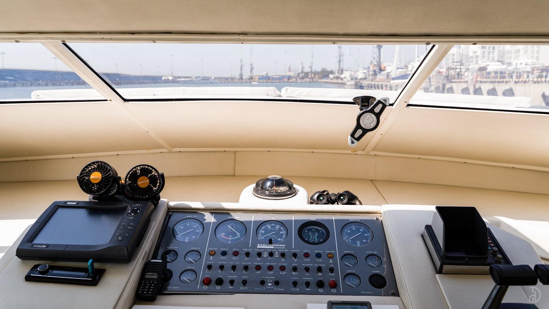 Аренда моторной яхты Sanlorenzo. Фото 6