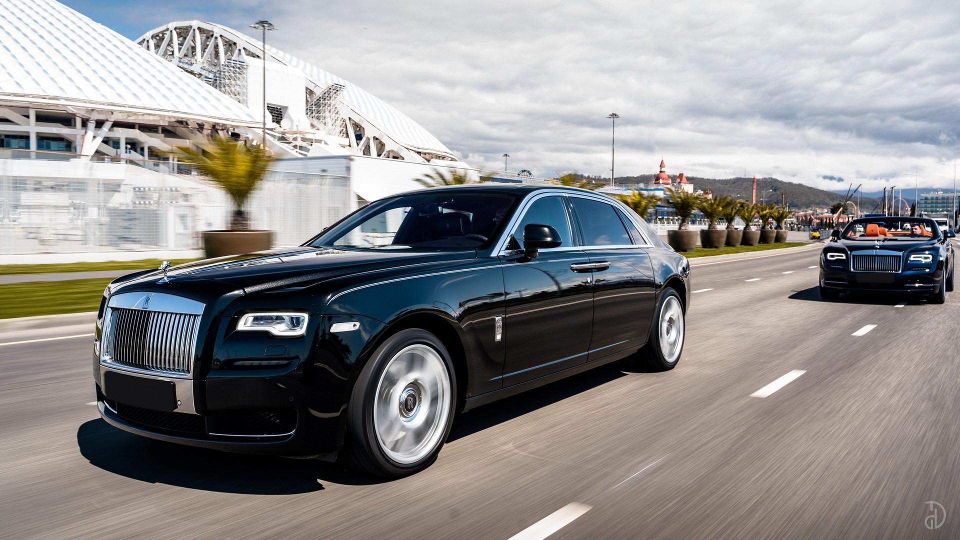Аренда Rolls-Royce Ghost с водителем. Фото 9