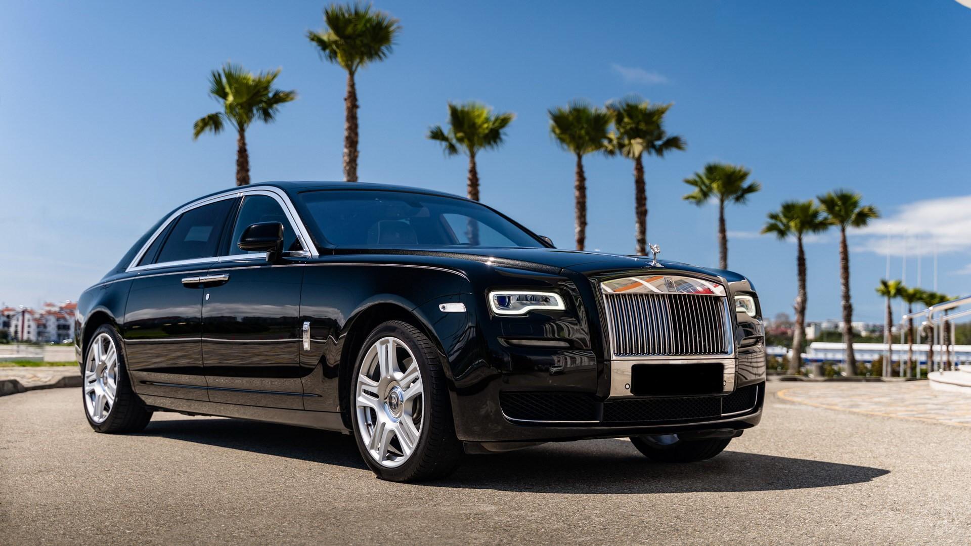 Аренда Rolls-Royce Ghost с водителем. Фото 1