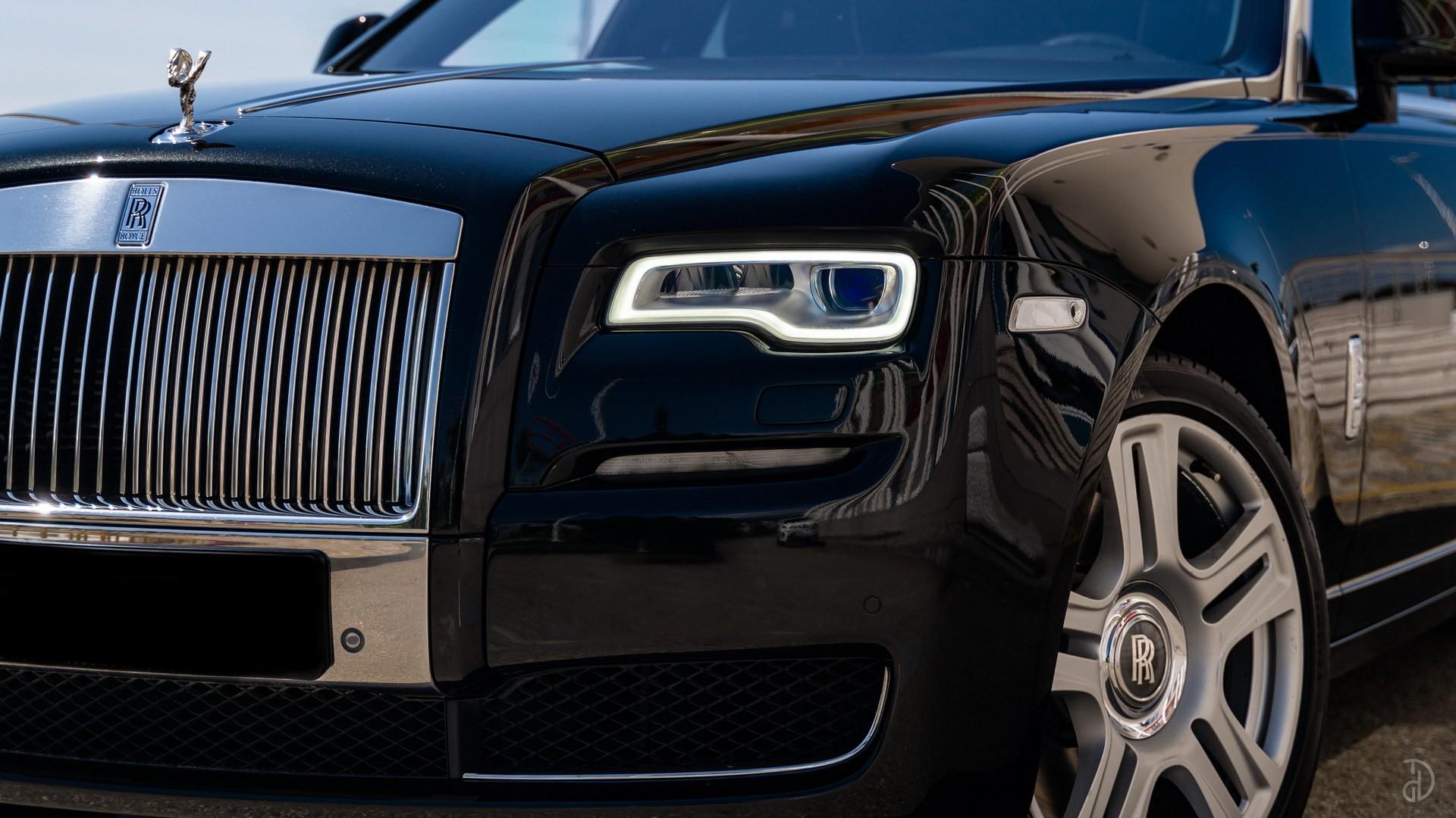 Аренда Rolls-Royce Ghost с водителем. Фото 8