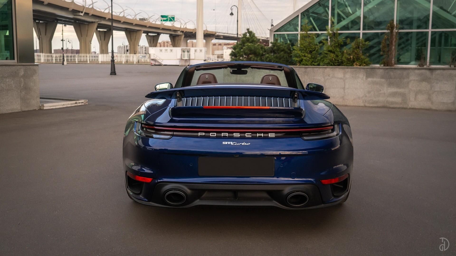 Аренда Porsche 911 Turbo (992) в Москве. Фото 3