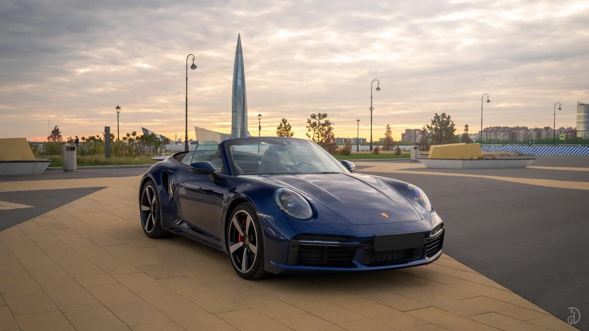 Аренда Porsche 911 Turbo (992) в Москве. Фото 1
