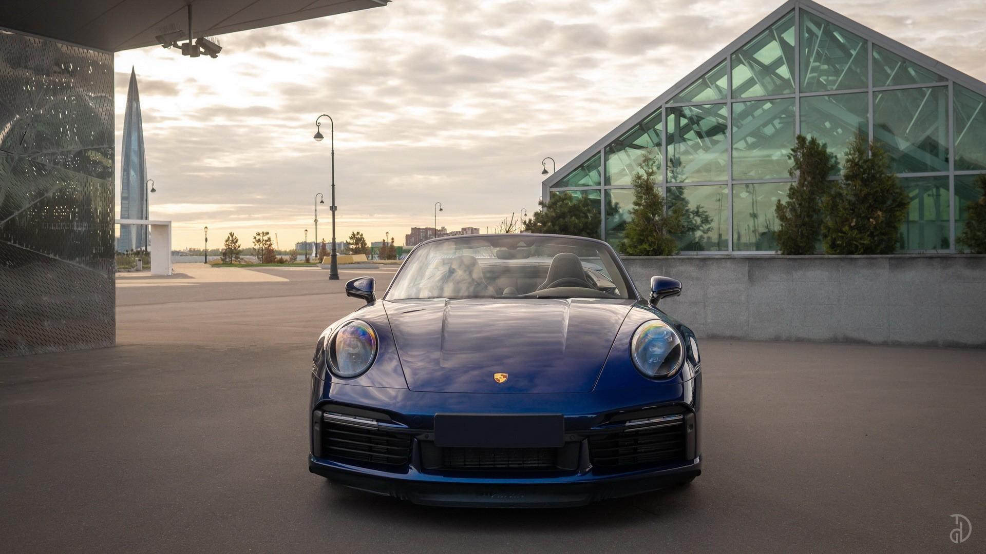 Аренда Porsche 911 Turbo (992) в Москве. Фото 2