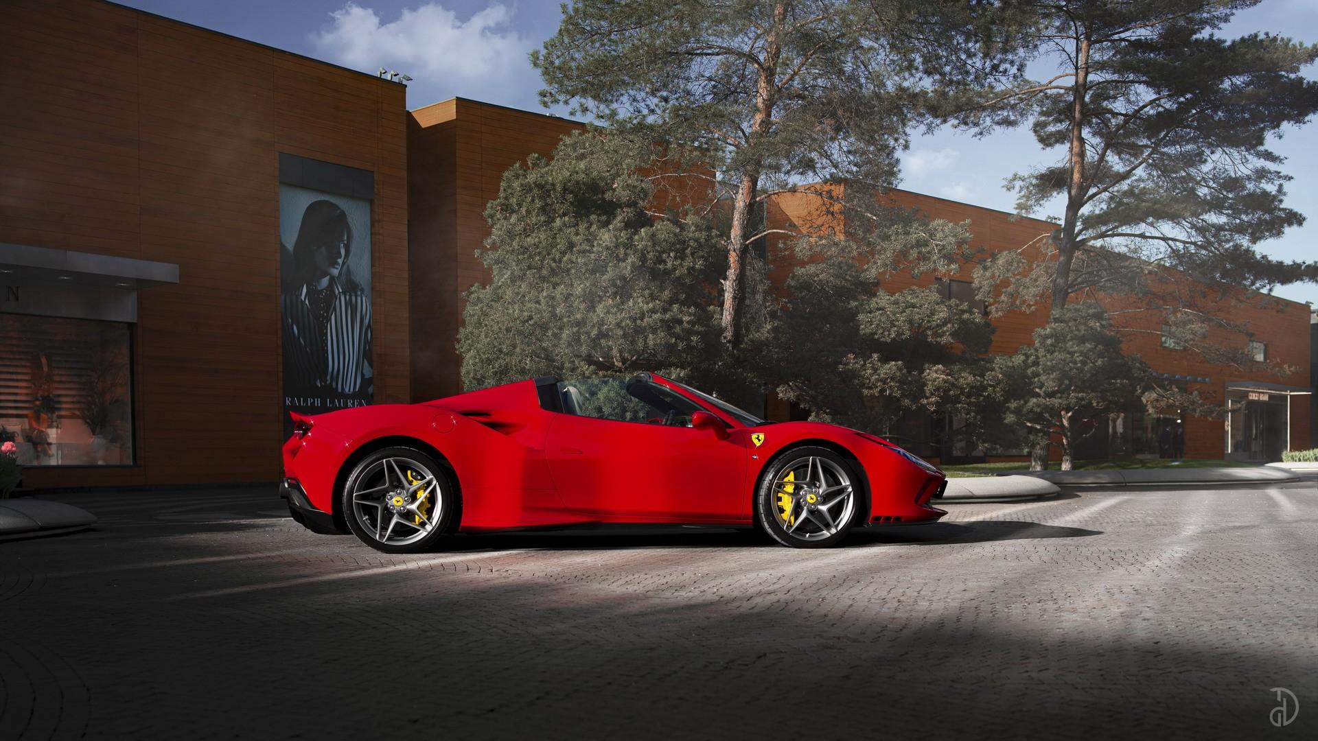 Аренда Ferrari F8 Spider в Сочи. Фото 2