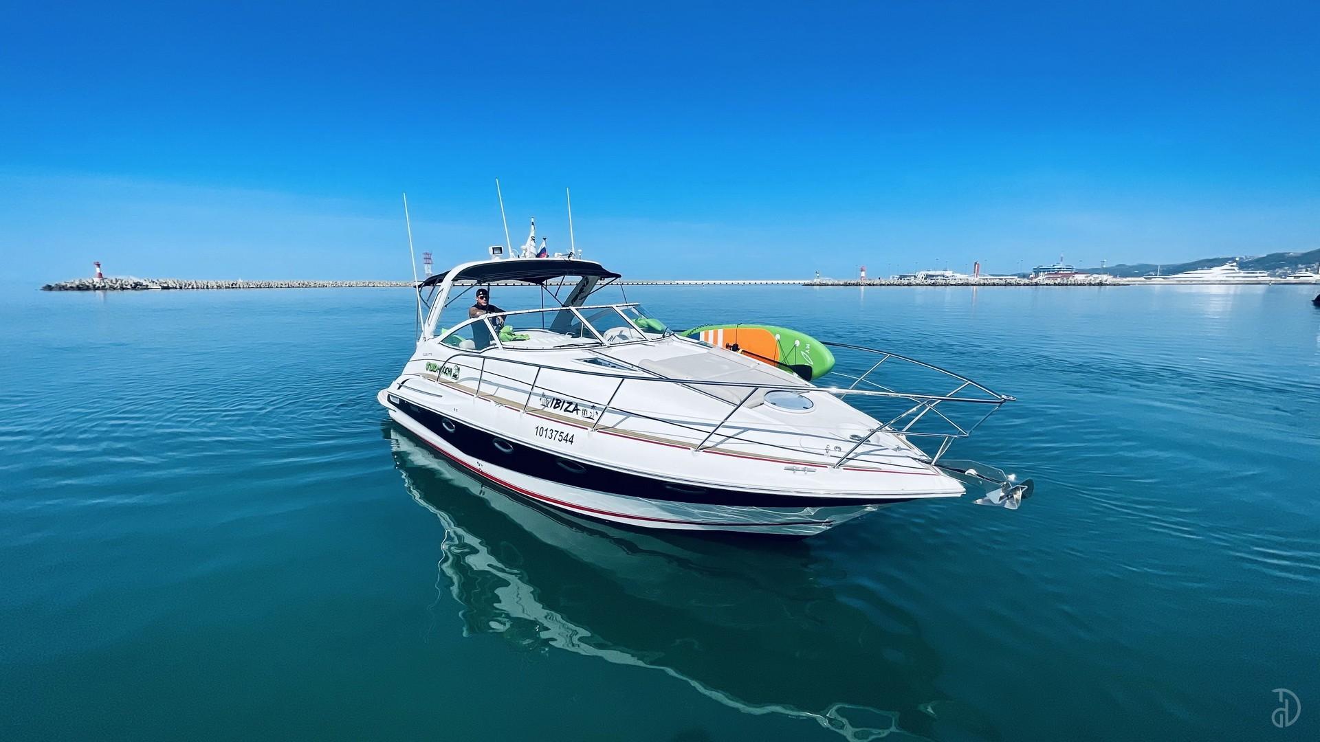 Аренда моторной яхты Doral Elegante 38. Фото 3