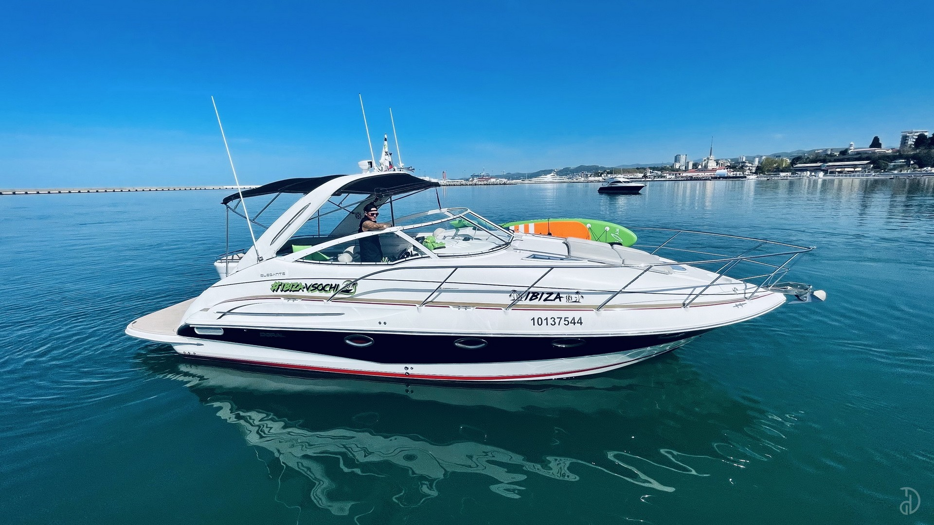 Аренда моторной яхты Doral Elegante 38. Фото 1