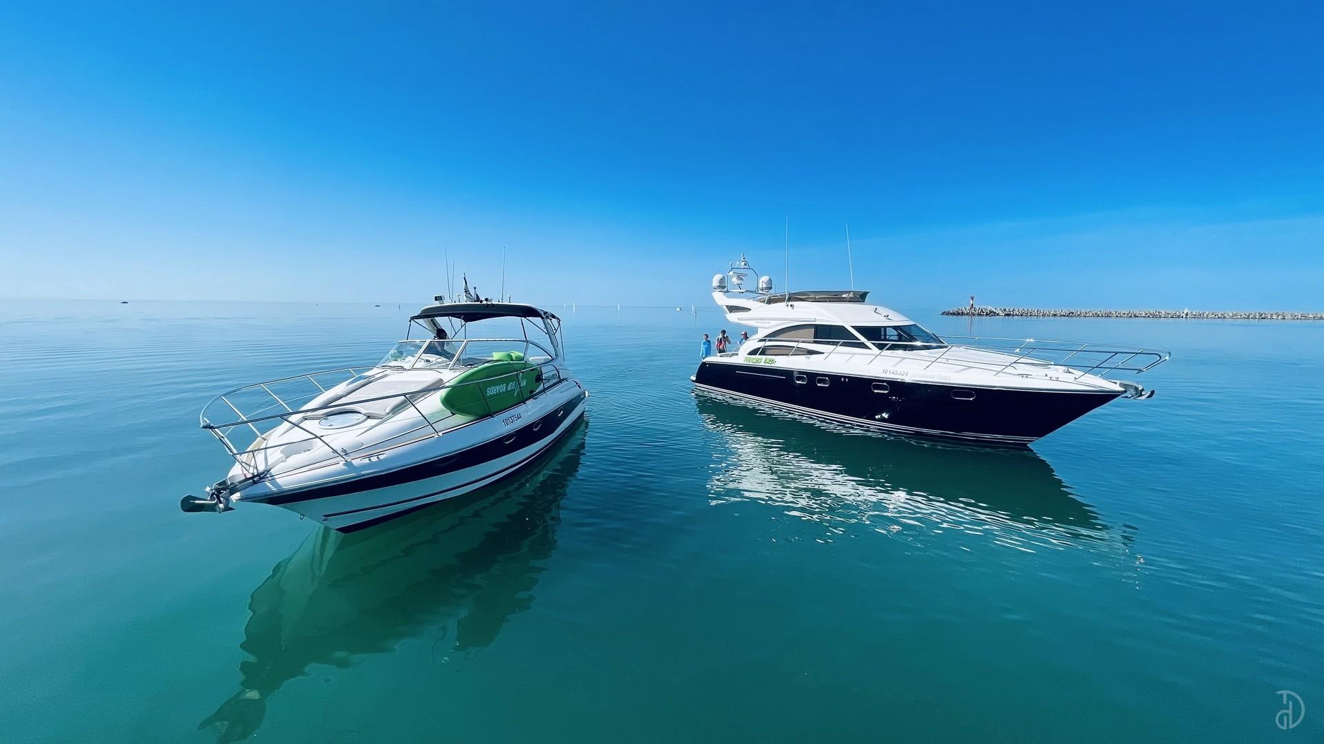 Аренда моторной яхты Doral Elegante 38. Фото 6