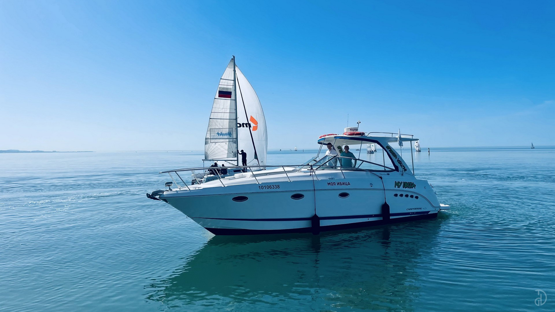 Аренда моторной яхты Chaparall 350 Signature. Фото 2