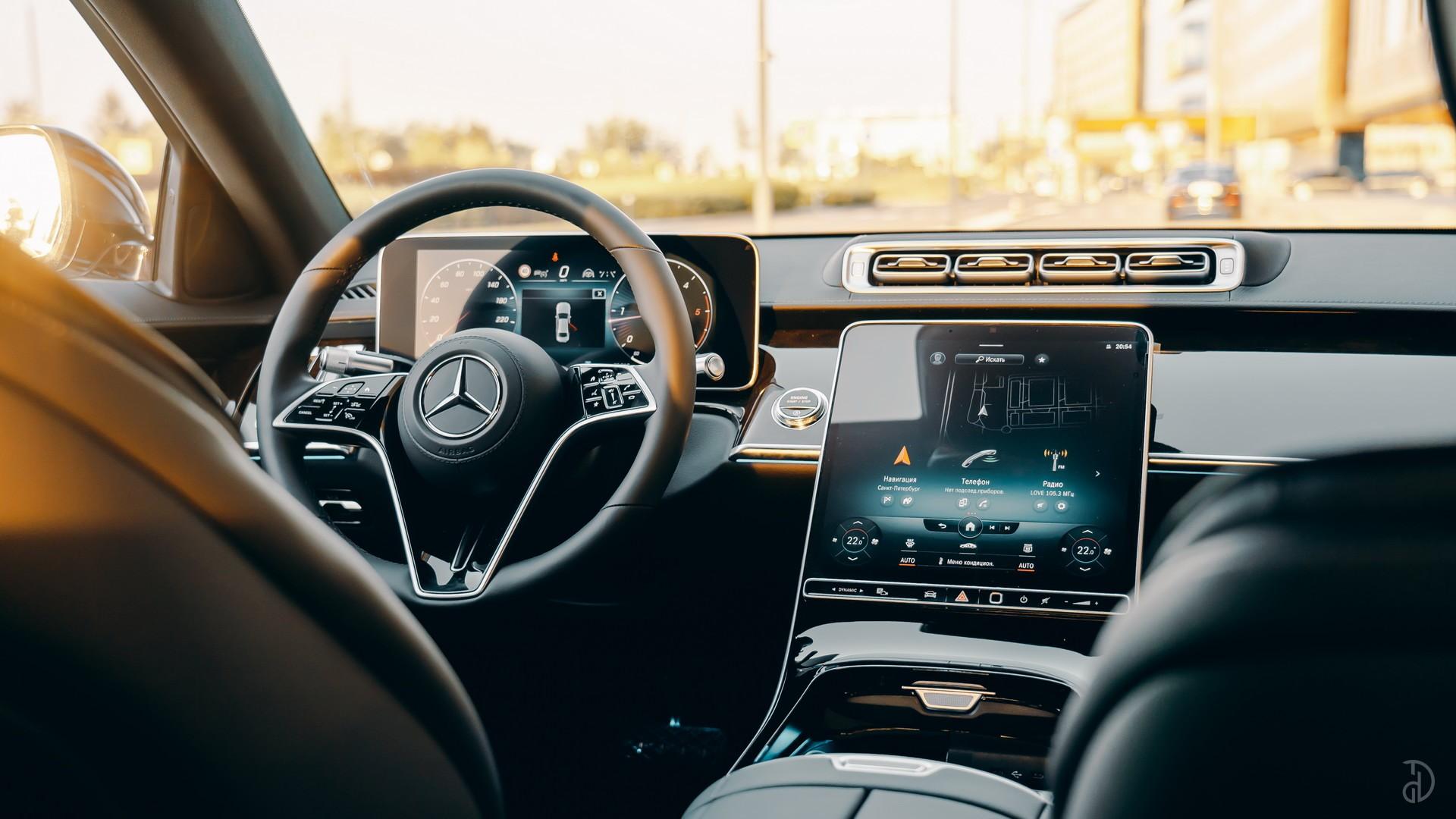 Аренда Mercedes S 350d (W223) в Сочи. Фото 12