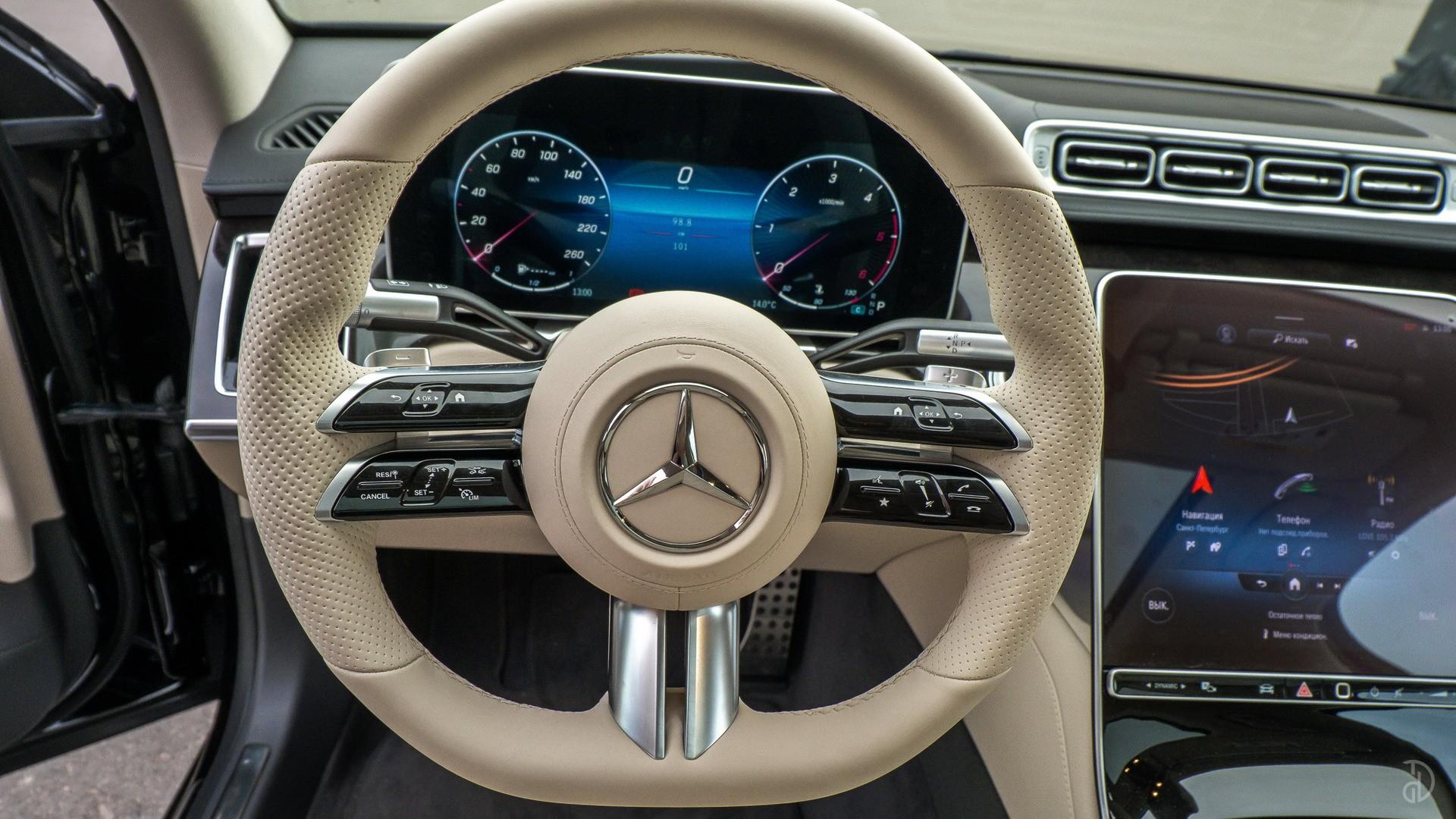 Аренда Mercedes S 350d (W223) в Сочи. Фото 14