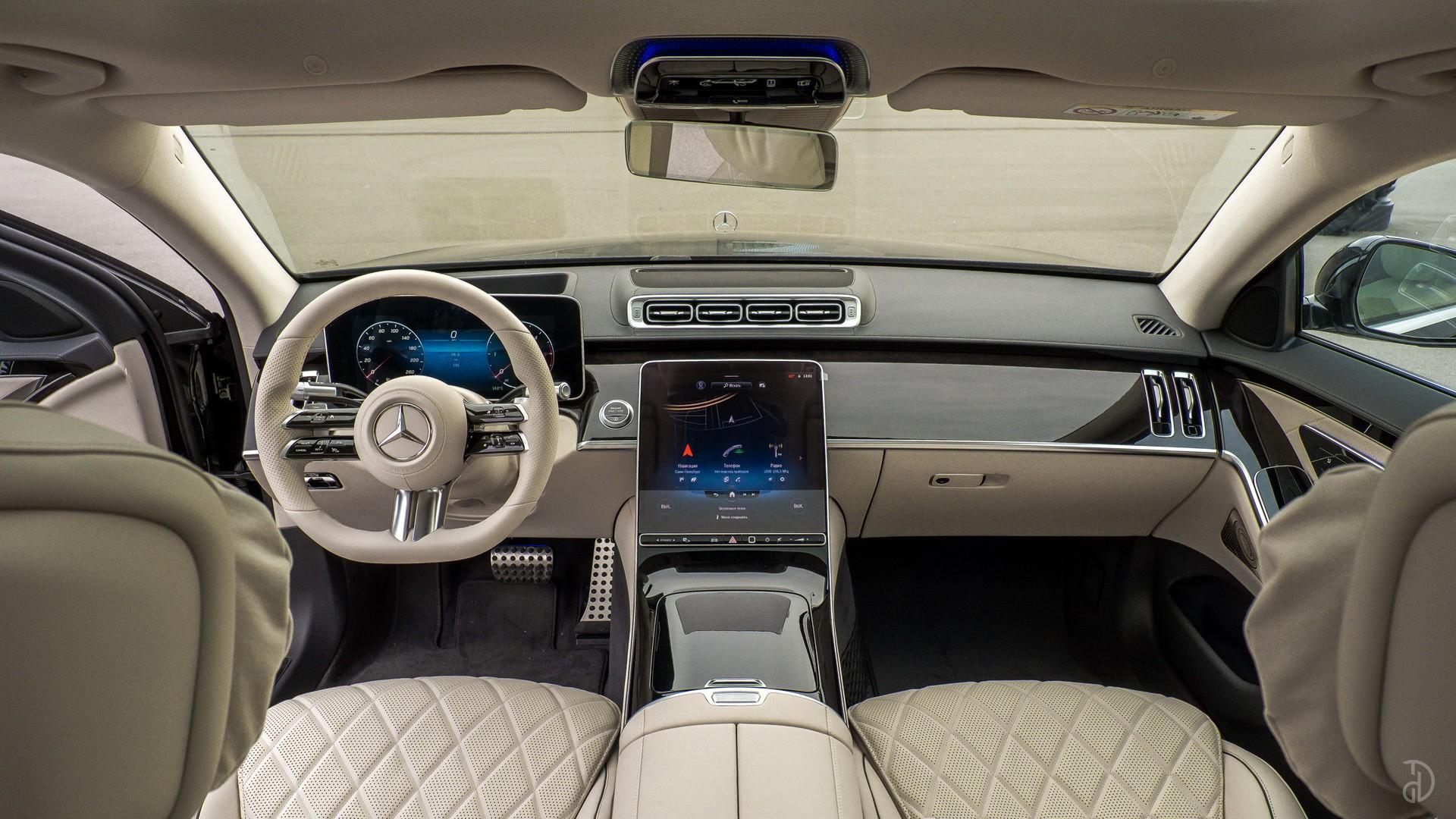 Аренда Mercedes S 350d (W223) в Сочи. Фото 16