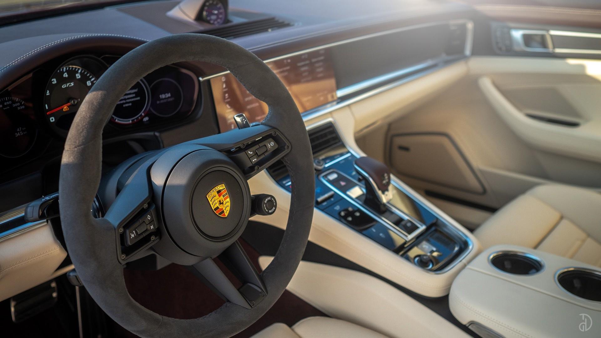 Аренда Porsche Panamera GTS в Москве. Фото 14