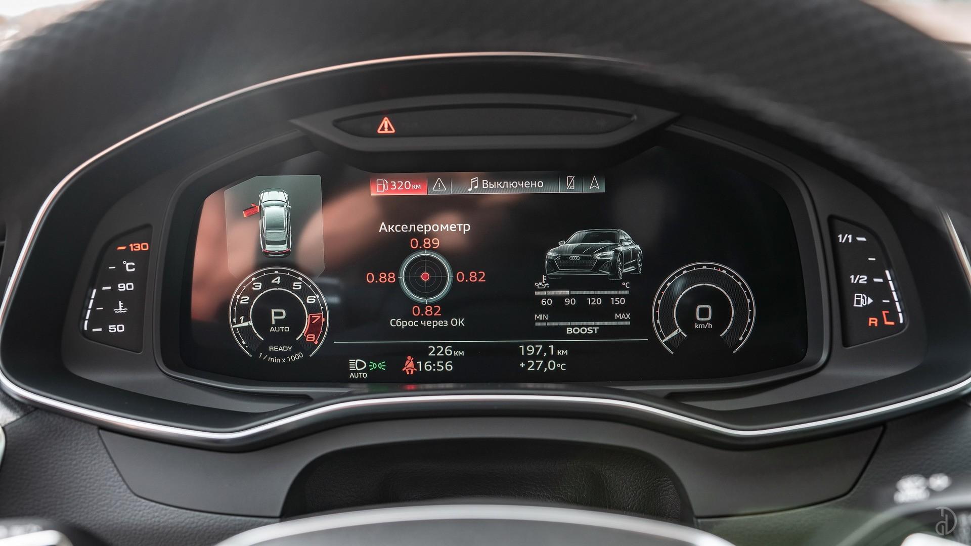 Аренда Audi RS 7 Sportback в Москве. Фото 12