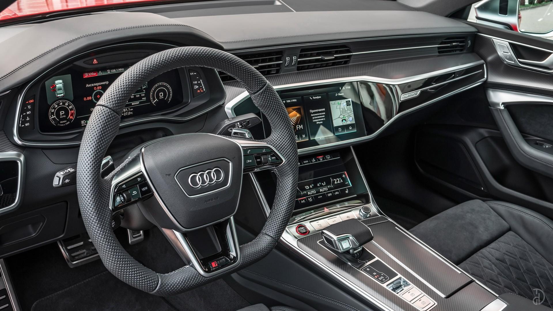 Аренда Audi RS 7 Sportback в Москве. Фото 11
