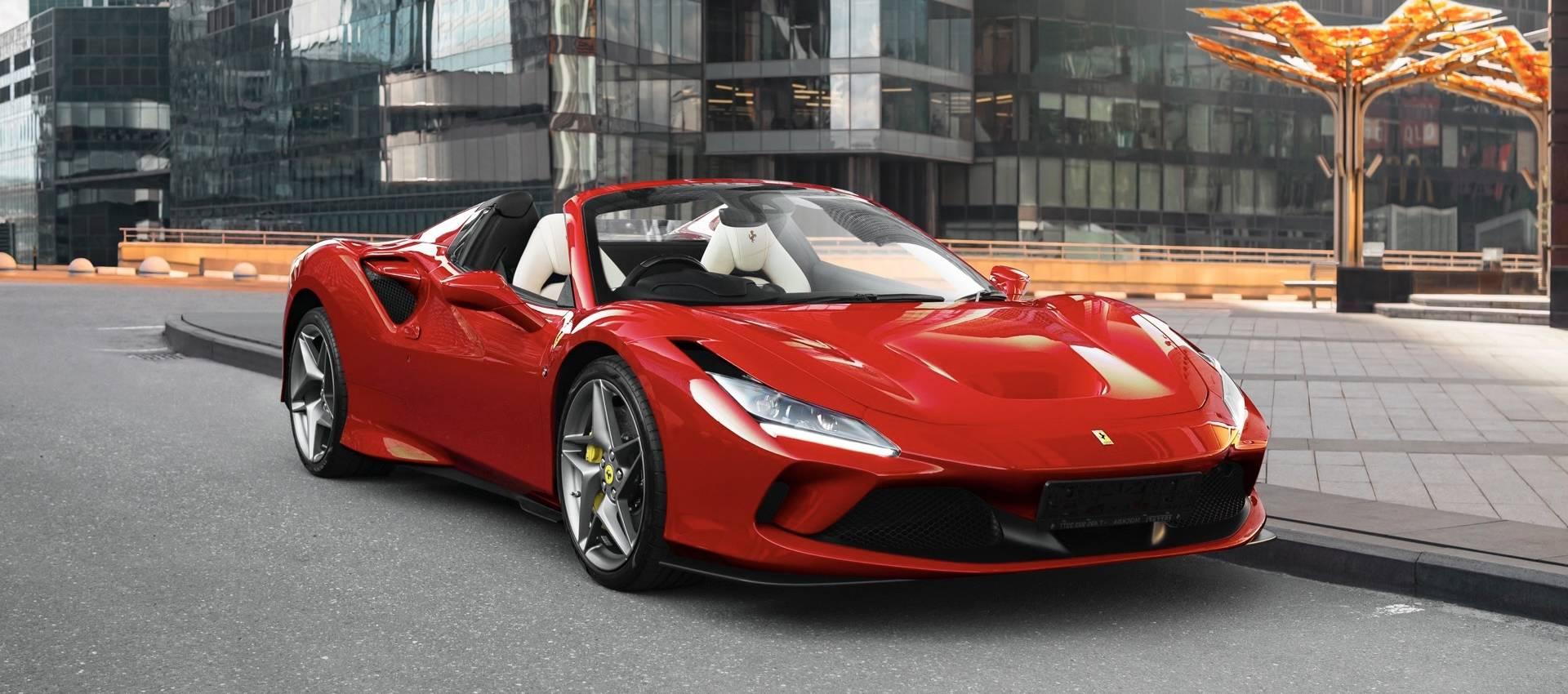 Аренда Ferrari F8 Spider в Москве